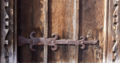 ворота старина