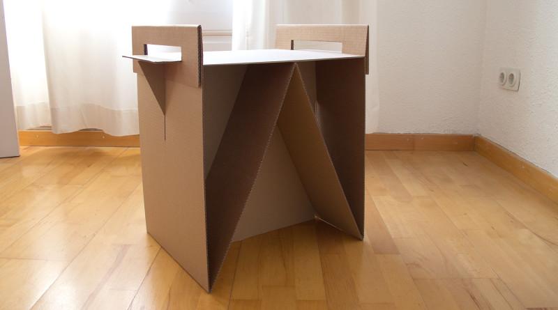 мебель картон