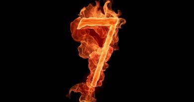 7, семь