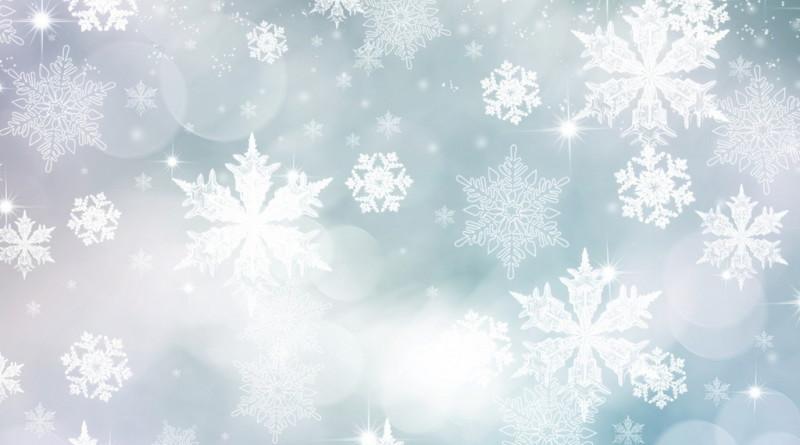 снег, снежинка