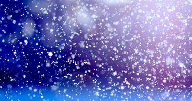 снег, снегопад