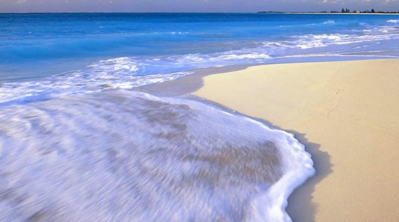 пляж, море, океан