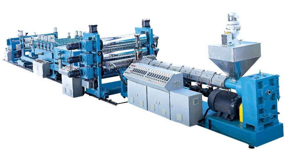 Экструдер - автоматизированная линия производства винилового пластика