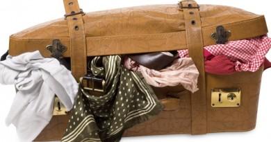 одежда чемодан
