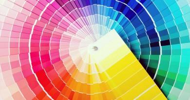цвет краска радуга