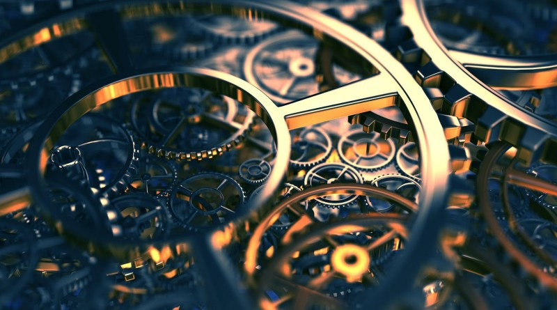 часы механизм