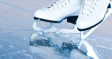каток лед коньки