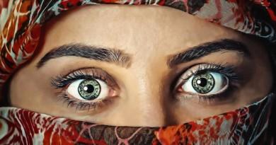 брови глаза