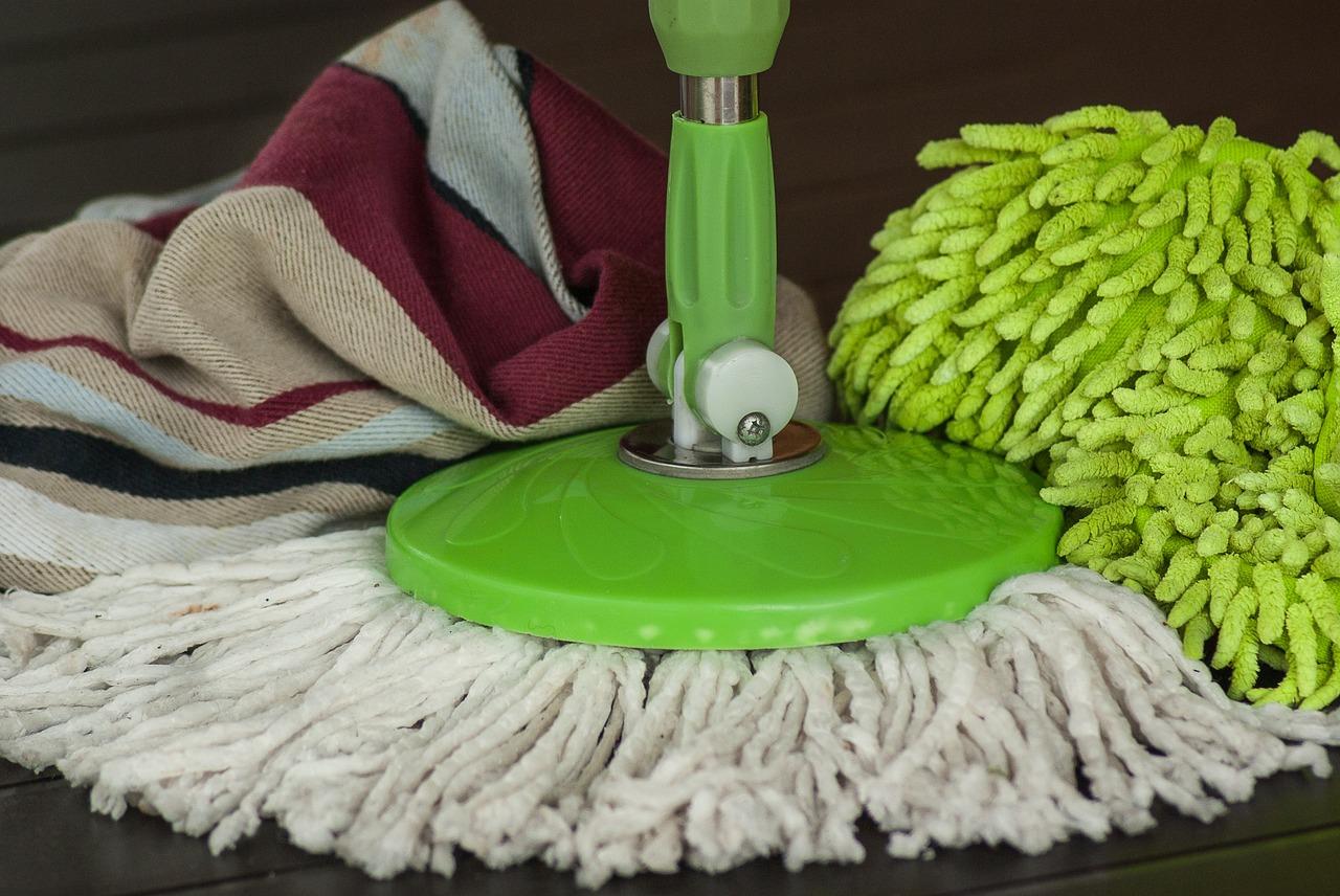 чистка уборка швабра