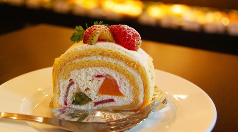 торт крем клубника десерт клубничный торт