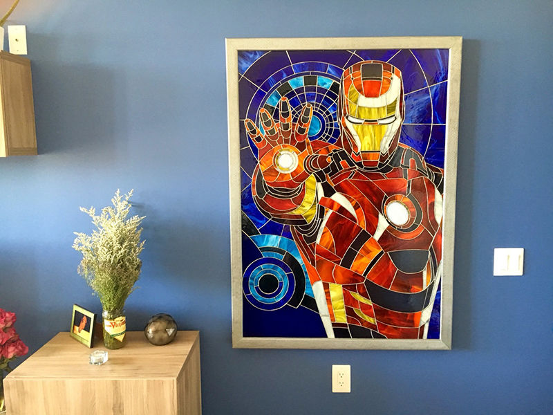 geek-stained-glass-window-superhero-iron-man