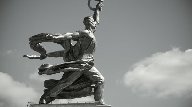 москва рабочий колхозница
