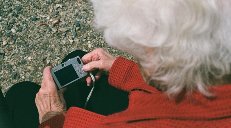 бабушка камера
