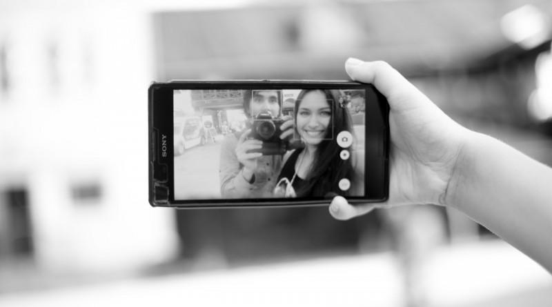 сэлфи телефон камера