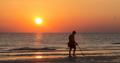 пляж металлоискатель кладоискатель клад