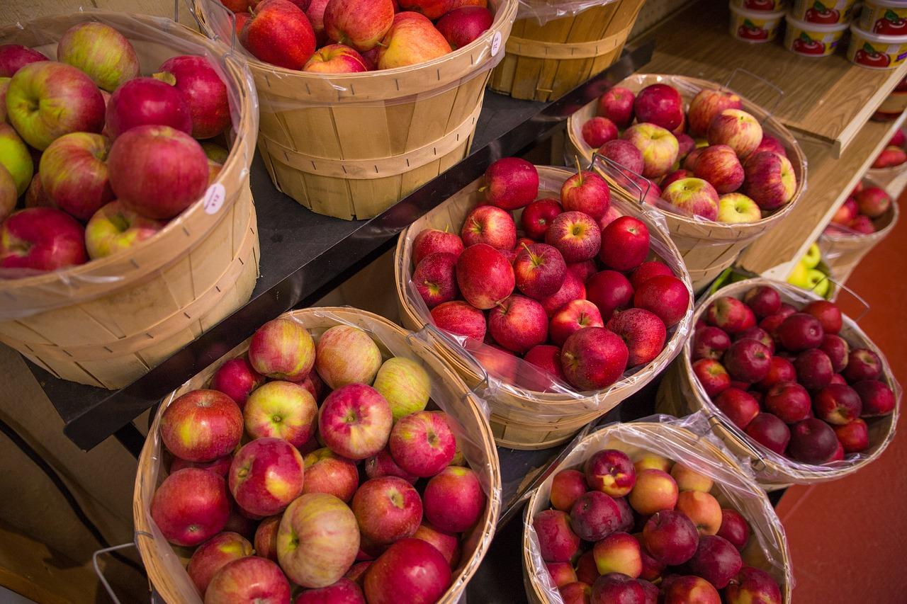 фрукты яблоки