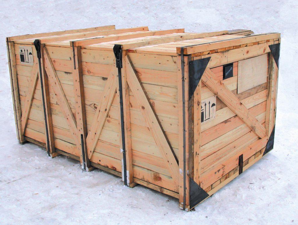 ящик контейнер деревянный