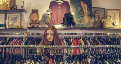 девушка магазин покупки