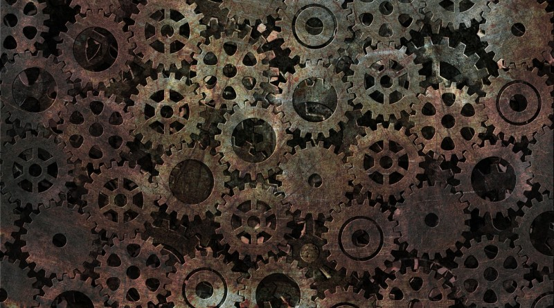 механизм шестеренка