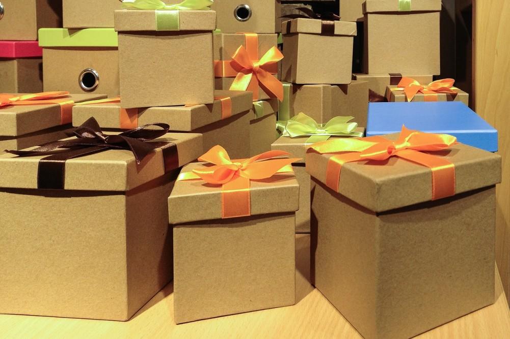 подарок коробка