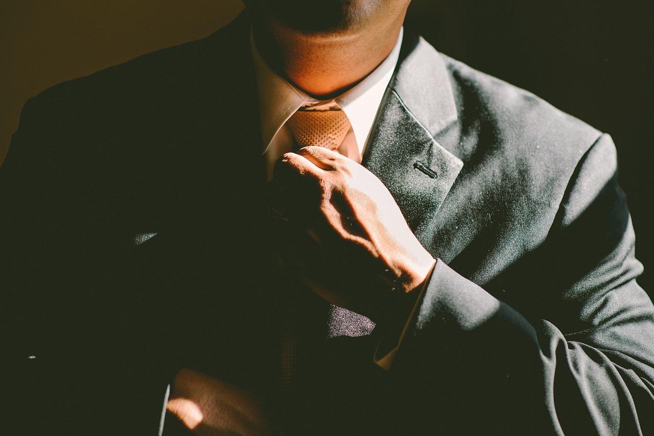 галстук мужчина
